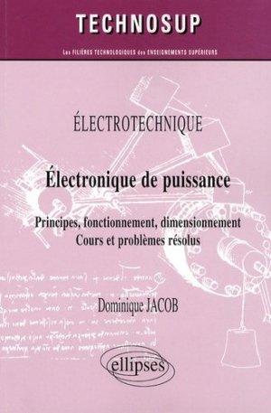 Electronique de puissance - Ellipses - 9782729839987 -