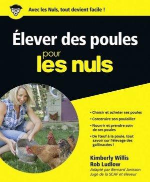 Elever des poules pour les nuls - Editions First - 9782754060318 -