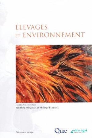 Élevages et environnement - quae  - 9782759208845 -