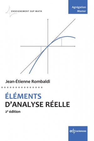 Eléments d'analyse réelle - edp sciences - 9782759823390 -