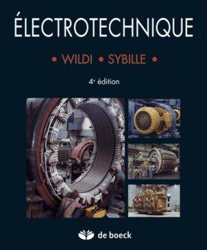 Électrotechnique - de boeck superieur - 9782804148928 -