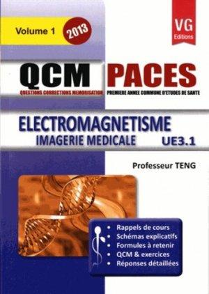 Électromagnétisme UE 3.1 - Vol 1 - vernazobres grego - 9782818309551 -