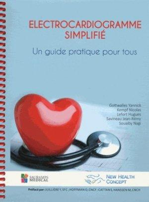 Electrocardiogramme simplifié - sauramps medical - 9782840239550 -
