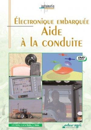 Électronique embarquée Aide à la conduite - educagri - 9782844445322 -