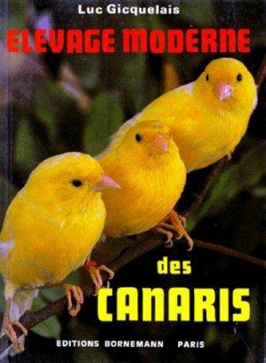 Élevage moderne des canaris - bornemann - 9782851825469 -