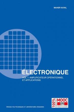 Electronique  - presses polytechniques et universitaires romandes - 9782889151325 -