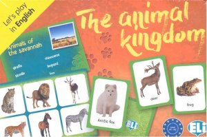 ELI Language Games: The Animal Kingdom - eli - 9788853622815 -
