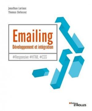 Emailing - Développement et intégration - Eyrolles - 9782212678499 -