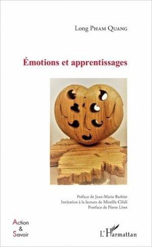 Emotions et apprentissages - l'harmattan - 9782343114286 -