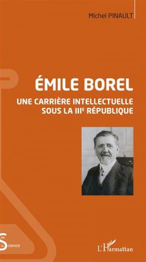 Emile Borel - l'harmattan - 9782343129426 -