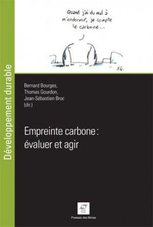 Empreinte carbone : évaluer et agir - presses des mines - 9782356712332