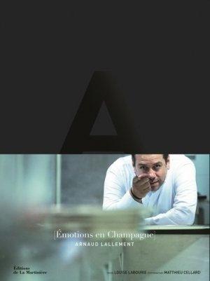 Emotions en Champagne - de la martiniere - 9782732479323 -