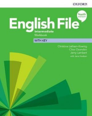 English File: 4th Edition - Intermediate - Workbook With Key - oxford - 9780194036108 -