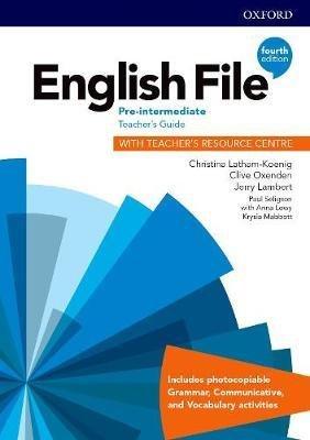 English File: Pre-Intermediate: Teacher's Guide with Teacher's Resource Centre - oxford - 9780194037563 -