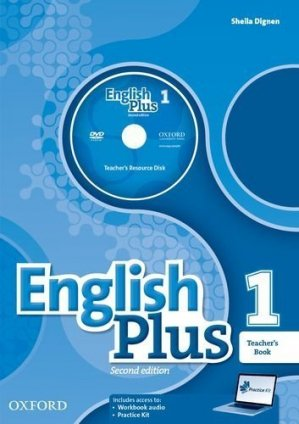 English Plus: Level 1: Teacher's Book with Teacher's Resource - 2nd  edition - oxford - 9780194202183 -
