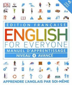 English for Everyone : Manuel d'apprentissage - Niveau 4 avancé - dk - dorling kindersley (france) - 9780241303627 -