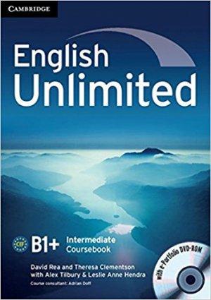 English Unlimited, Intermediate - Coursebook with e-Portfolio - cambridge - 9780521739894 -