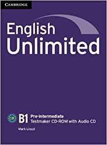 English Unlimited, Pre-intermediate - Testmaker CD-ROM and Audio CD - cambridge - 9781107609990 -