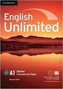 English Unlimited, Starter - Coursebook with e-Portfolio and Online Workbook Pack - cambridge - 9781107642416 -