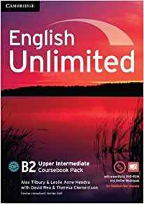 English Unlimited, Upper Intermediate - Coursebook with e-Portfolio and Online Workbook Pack - cambridge - 9781107691957 -