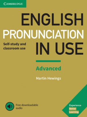 English Pronunciation in Use Advanced - Book with Answers and Downloadable Audio - cambridge - 9781108403498 -