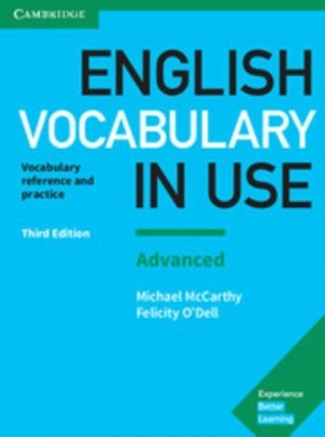 English Vocabulary in Use Advanced - Book with Answers - cambridge - 9781316631171 -
