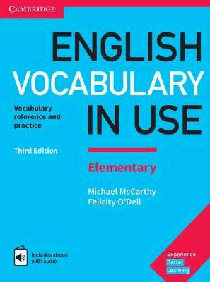 English Vocabulary in Use Elementary - Book with Answers and Enhanced eBook - cambridge - 9781316631522 -