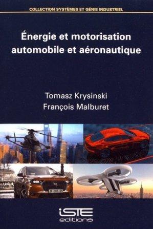 Energie et motorisation automobile et aéronautique - iste  - 9781784056537 -