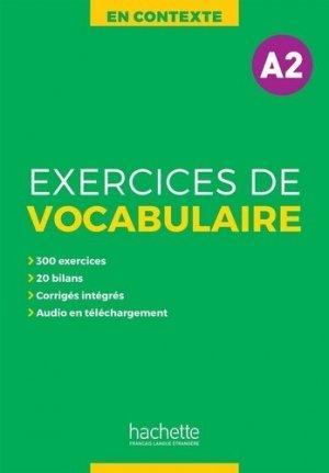 En Contexte - Vocabulaire A2 - Hachette Français Langue Etrangère - 9782014016437 -