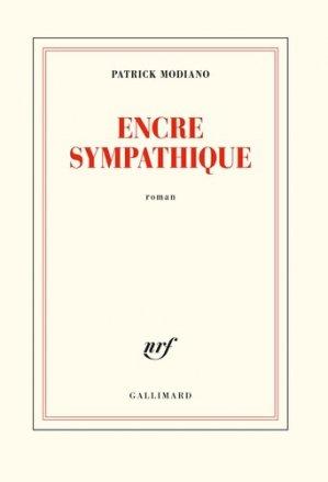 Encre sympathique - Gallimard - 9782072753800 -