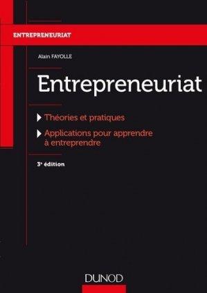 Entrepreneuriat - Dunod - 9782100765072 -
