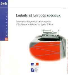 Enduits et enrobés spéciaux - certu - 9782110931177