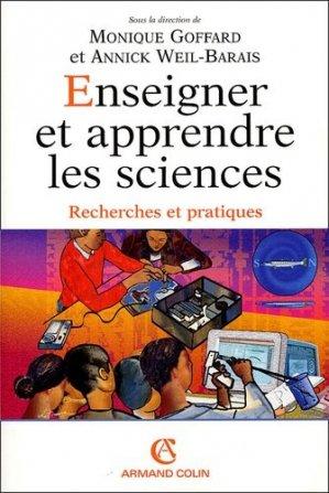 Enseigner et apprendre les sciences - Armand Colin - 9782200269715 -