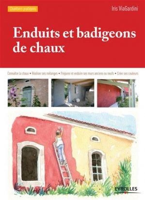 Enduits et badigeons de chaux - eyrolles - 9782212141719 -