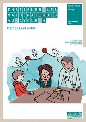 Enseigner les mathématiques au cycle 4 - Canopé - CNDP - 9782240042392 -
