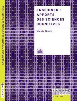 Enseigner : apports des sciences cognitives - Canopé - CNDP - 9782240046130 -