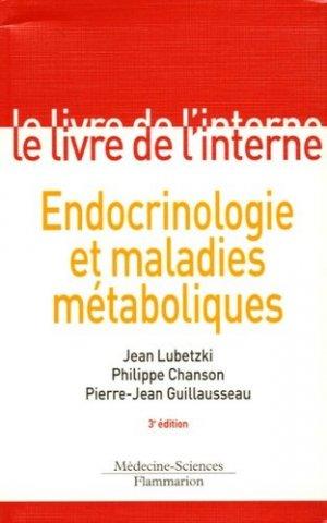 Endocrinologie et maladies métaboliques - lavoisier msp - 9782257131539