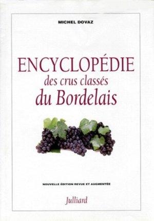 Encyclopédie des crus classés du Bordelais - julliard - 9782260013761 -