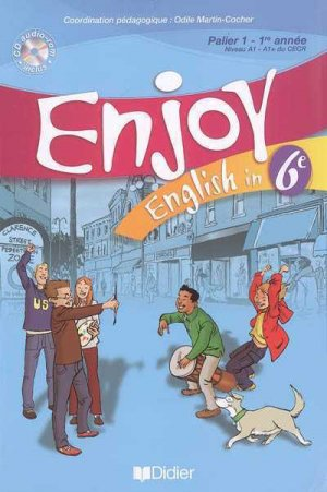 English in 6e Enjoy - didier - 9782278056415 -