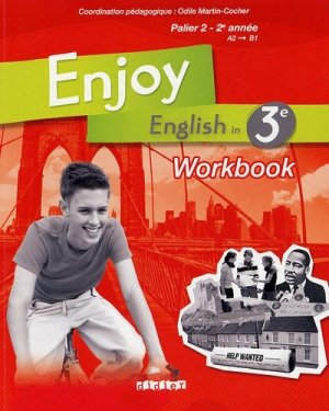 Enjoy English in 3e Palier 2 - 2e année - didier - 9782278063642 -