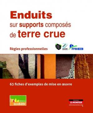 Enduits sur supports composés de terre crue - le moniteur - 9782281116076 -