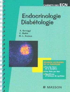 Endocrinologie - Diabétologie - elsevier / masson - 9782294080531