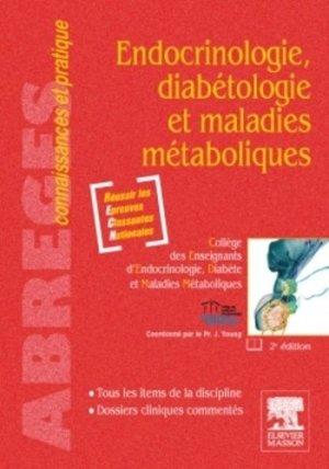 Endocrinologie, diabétologie et maladies métaboliques - elsevier / masson - 9782294708138 -