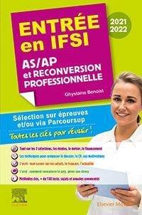 Entrée en IFSI Reconversion professionnelle - elsevier / masson - 9782294773419 -