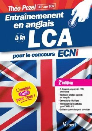 Entraînement en anglais à la LCA - estem / vuibert - 9782311661064 -