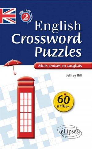 English Crossing Puzzles Level 2 intermédiaire - ellipses - 9782340004900 -
