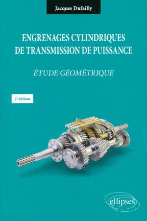 Engrenages cylindriques de transmission de puissance - ellipses - 9782340011748 -