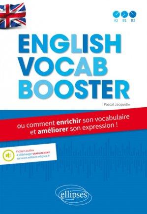 English Vocab Booster - ellipses - 9782340017351 -