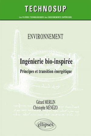 Environnement - Ingénierie bio-inspirée - ellipses - 9782340024342 -