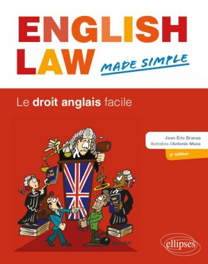 English Law, Made Simple - ellipses - 9782340041370 -